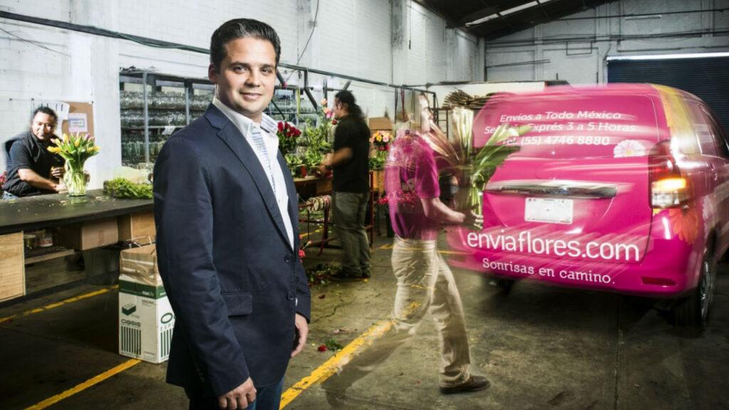 El emprendedor que convirtió una florería en un poderoso e-commerce
