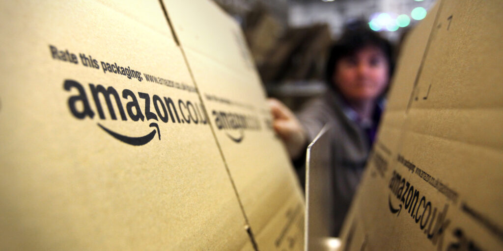 El increíble rendimiento de las acciones de Amazon